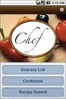 Screenshot of Chef