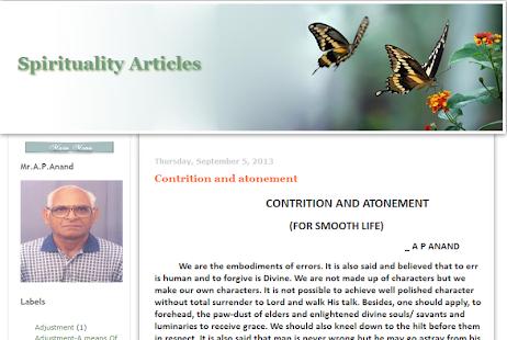 Spirituality-Articles 8