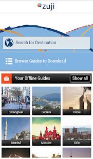 Zuji 離線旅遊指南