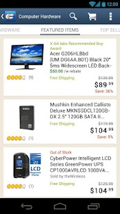 Newegg Mobile - screenshot thumbnail