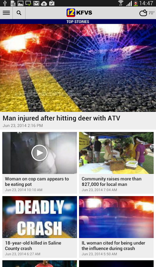 KFVS12 Local News- screenshot