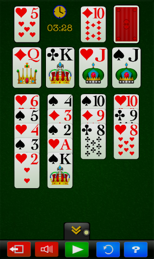 Canfield Solitaire Kartenspiel