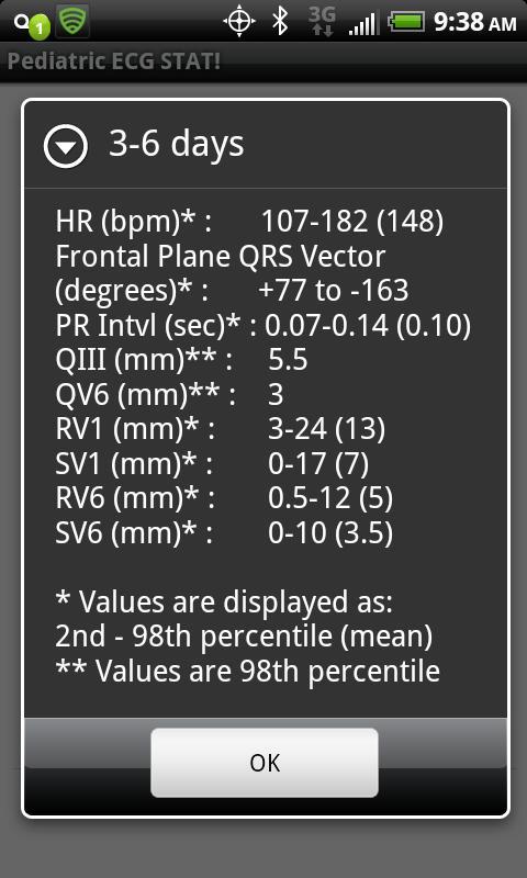 Pediatric ECG Stat! (FREE)- screenshot