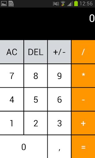 Calculator - Hesap Makinesi