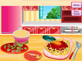 Screenshot of Cooking Spaghetti Bolognese