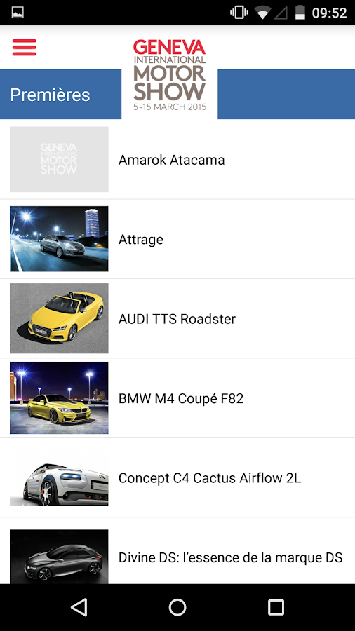 85. Auto Salon - Genf – Screenshot