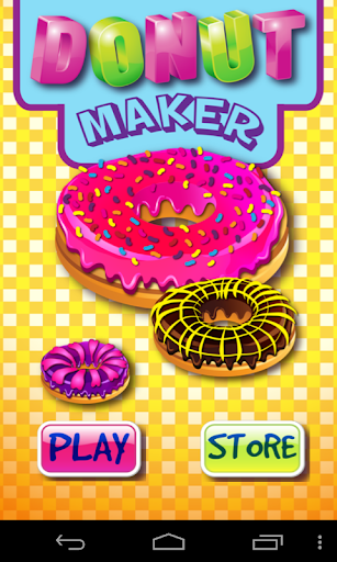 Donut Maker No Ads