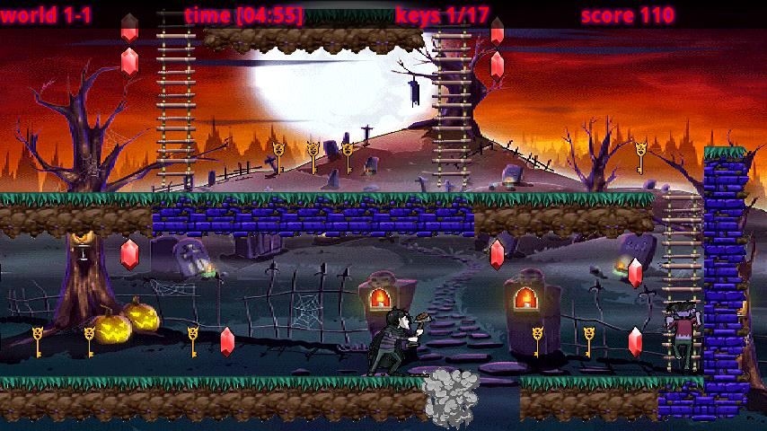 Grave Digger - Temple'n Zombie- screenshot