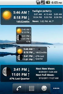 LunaSolCal Widgets - screenshot thumbnail