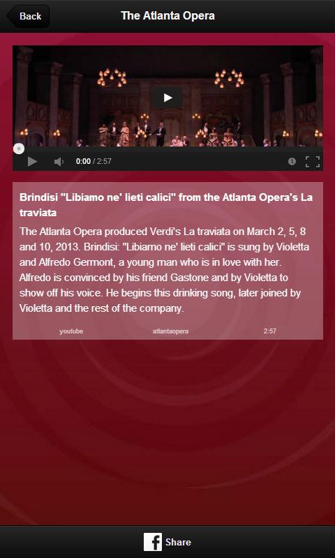 The Atlanta Opera - screenshot