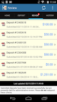 Screenshot of DeposZip Mobile