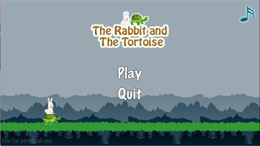 Tortoise Rabbit Running Game