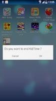 Screenshot of KidTime