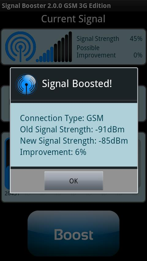 SignalBooster - screenshot