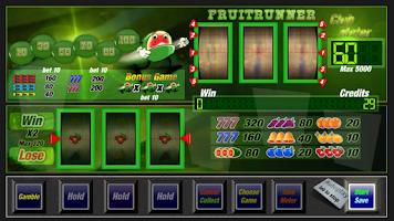 Screenshot of Slot machine fruit runner