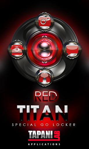 GO Locker Red Titan