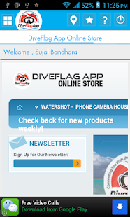 Dive Flag App- screenshot thumbnail