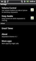 Screenshot of StopWatch Xtreme Free