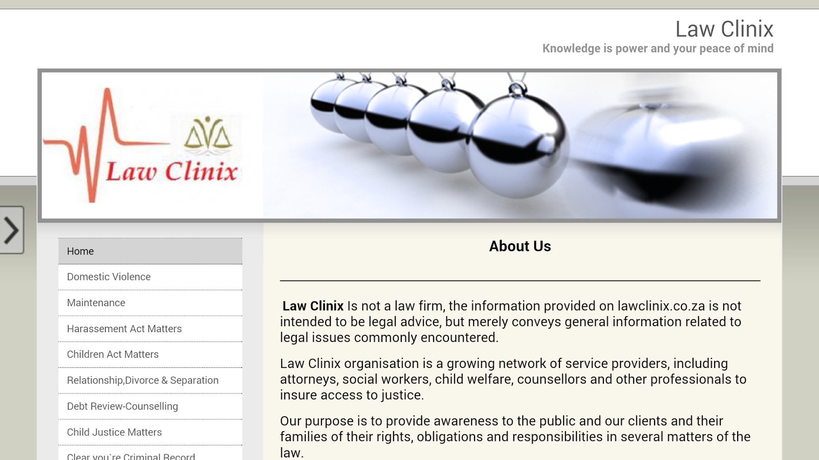 Law Clinix- screenshot