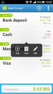 CashFlow Lite expense manager