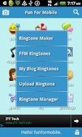 Screenshot of FunForMobile Ringtones & Chat