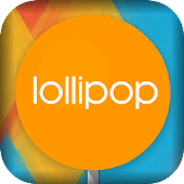 Lollipop Live Wallpaper Theme