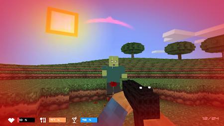Cube Gun 3D : Zombie Island 1.0 screenshot 44161
