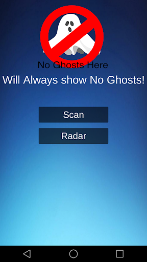 No Ghosts Here