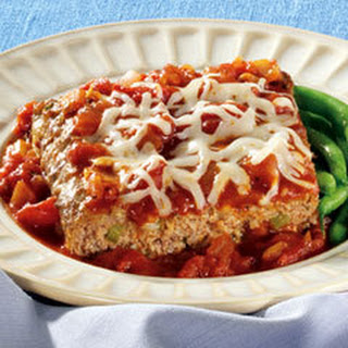 Garden-style Pizza Meatloaf.