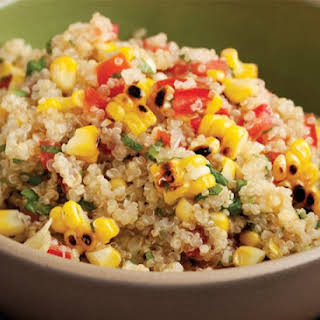 Grilled Corn and Quinoa Salad.