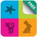 Kids Zoo - Animal Flashcards icon