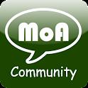 MoA 커뮤니티 logo