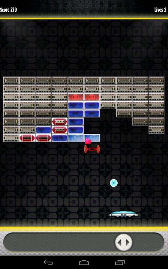 Space Breakout- screenshot