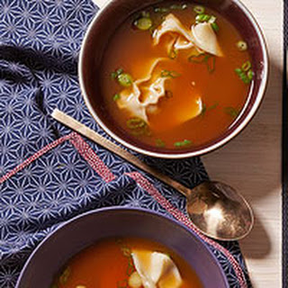 Sweet & Spicy Wonton Soup.