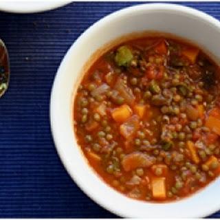 Moroccan Hot Lentil Soup