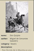 Screenshot of Don Quixote