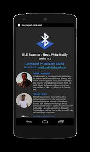 6 BLE Scanner: Read,Write,Notify App screenshot