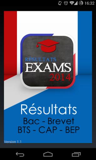 Résultats BAC et Brevet 2014