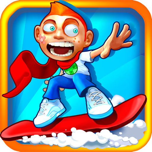 Skiing Fred Skiing Fred snowboardowe Subway Surfers