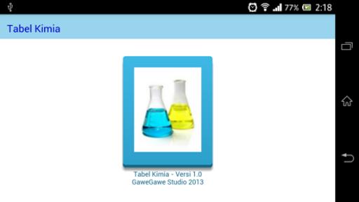 Tabel Kimia