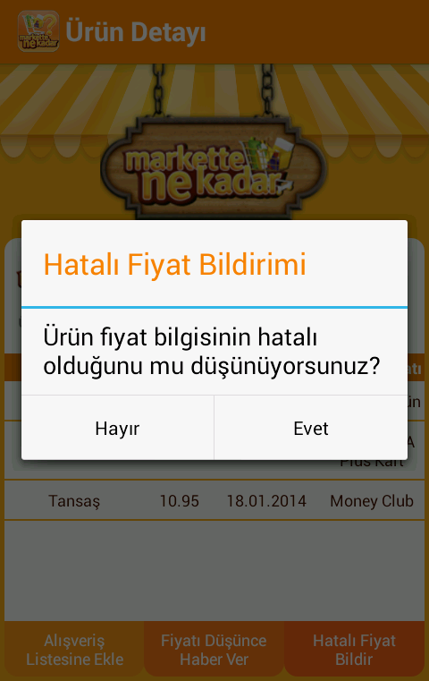 Markette Ne Kadar?- screenshot
