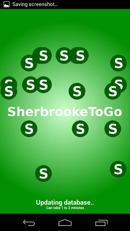 SherbrookeToGo - screenshot