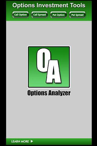 Stock Options Analyzer