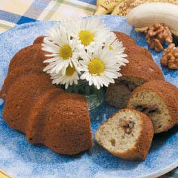 Sour Cream Banana Coffee Cake Recipe