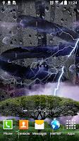 Screenshot of Thunderstorm Live Wallpaper