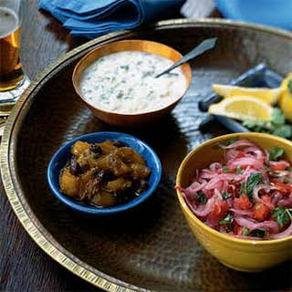 Raita (Indian Yogurt and Cucumber Condiment).