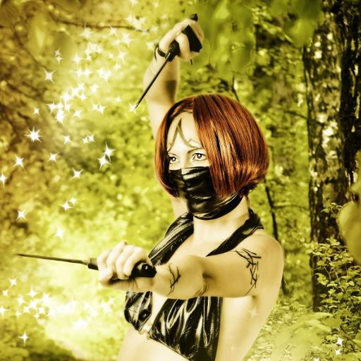 Fantasy women live wallpaper