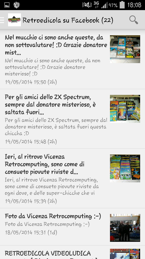 RetroEdicola Videoludica- screenshot