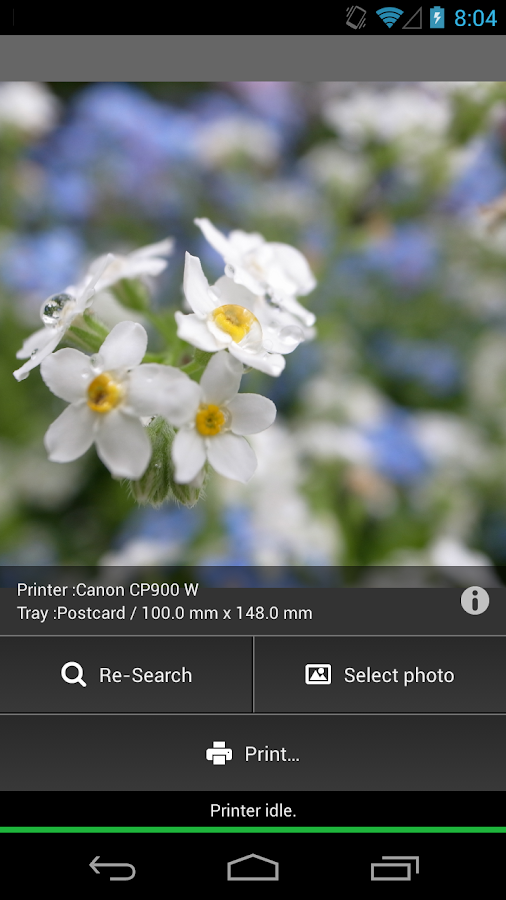 PictPrint - WiFi Print App -- screenshot