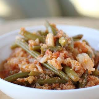 "One-Pot Italian ""Potatoes"" & Green Beans."